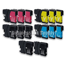 14 PK New LC61 Ink Cartridge for Brother Printer DCP-585CW MFC-J630W LC61 LC-61