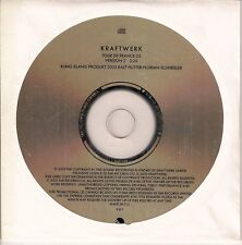"KRAFTWERK CD SINGLE PROMO ""TOUR DE FRANCE 03 VERSION 2"""