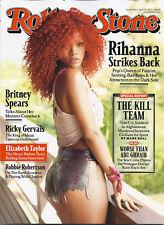 Rolling Stone Magazine Rihanna Britney Spears Ricky Gervais Robbie Roberrtson