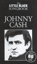 JOHNNY CASH LITTLE BLACK SONG BOOK  80 SONGS GUITAR SONGBOOK w/ CHORDS  LYRICS
