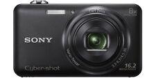 Sony Cyber-shot  Compact Digital Camera DSC-WX80/B 16.2MP 8X Optical Zoom Black