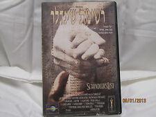 SCHINDLER'S LIST EXTREMELY RARE VHS HEBREW STEVEN SPIELBERG,LIAM NEESON
