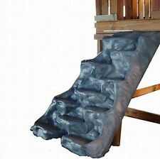 Giant Moulded Climbing Wall GREY playground cubby tree house rock wall BL2