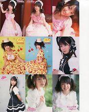 JAPANESE IDOL Tomoka Kurokawa 72 BASE CARDS SET LOT