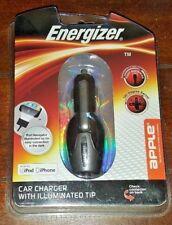 New Energizer Car Charger 180 Degree Swivel ~APPLE~ Model# ENG-CLA001B