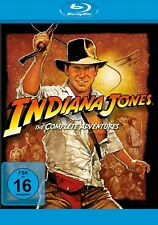 Indiana Jones 1+2+3+4 - The Complete Adventures # 4-BLU-RAY-BOX-NEU
