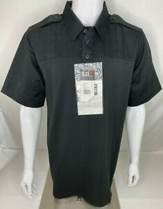 5.11 Tactical Men's Large Tall Rapid PDU Short Sleeve Shirt Poly/Cotton 71332 E2