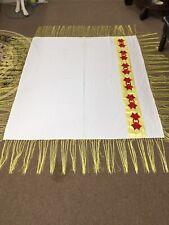 "Native American Ceremonial Shawl 58"" x 66"""