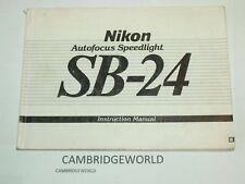 NIKON  SB-28 FLASH  INSTRUCTION MANUAL GUIDE BOOK ORIGINAL GENUINE