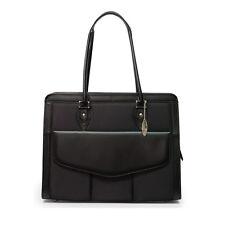 "Mobile Edge Women's Microfiber Black Geneva Laptop Bag for 17.3"" Laptop MEGN1L"