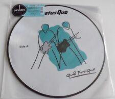 STATUS QUO QUID PRO QUO VINYL LP PICTURE DISC 2013