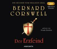 FRANK STÖCKLE - DER ERZFEIND -BERNARD CORNWELL  MP3 CD NEW