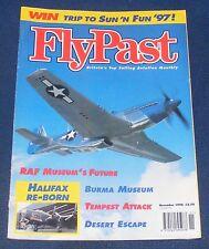 FLYPAST MAGAZINE NOVEMBER 1996 - RAF MUSEUM'S FUTURE/DESERT ESCAPE