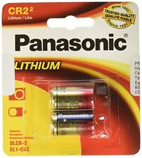 2x Panasonic 3-Volt Photo Lithium Battery (CR-2PA1B) - Tracking Included!