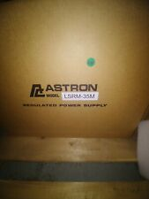 Astron LSRM-35M 28 VDC Linear Rackmount Power Supply, Input Voltage: 105-125VAC