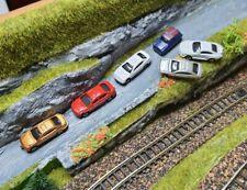 6 Autos Spur z Pkw Fahrzeuge fertig lackiert Modellautos Mini Cooper 1:200