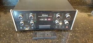 McIntosh preamplifier C39 with remote