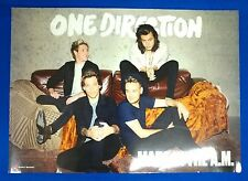 One Direction - Made In The A.M. Official Poster Hard Tube Case New