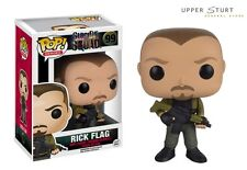 Pop Heroes Suicide Squad Rick Flag Funko Pop Vinyl FAST N FREE DELIVERY