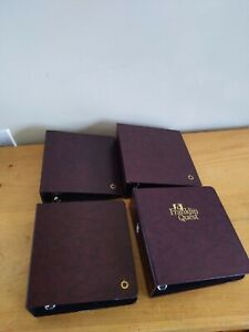 Franklin covey classic storage binders -- 4