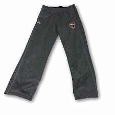 Real Salt Lake Heather Gray Color Men's Adidas Pants Size Medium