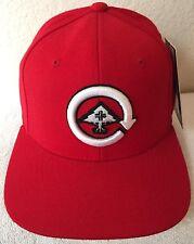 LRG Mens J117009 Red Snapback Hat