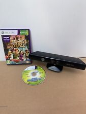 Official Microsoft Xbox 360 Kinect Sensor and 2 Games