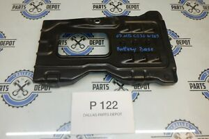 2007 MERCEDES BENZ C230 W203 BATTERY TRAY BASE OEM USED
