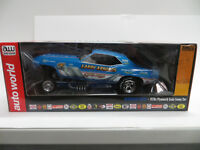 AUTO WORLD 1:18 KING FISH 1970'S PLYMOUTH CUDA FUNNY CAR AW1173- NEW