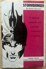 Stormbringer by Michael Moorcock (1965) Elric of Melnibone 1st ed hc