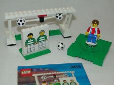 Lego Sports 3414 Soccer Precision Shooting Tor komplett mit Anleitung OBA