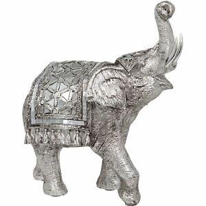 THAI DECORATIVE ELEPHANT WITH SHAWL ORNAMENT BY MATURI