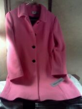 "Forecaster Of Boston Coat, With Side Pockets Fuscia Color ""Brand New"" With Tags"
