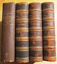 Journal of the LINNEAN SOCIETY - BOTANY. Vols 29 - 32 1893 - 96.   3/4 Leather