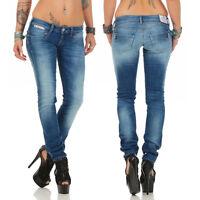 HERRLICHER - PIPER Slim - D9666/634 - Röhre / Damen Jeans Hose - NEU