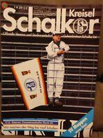FC Schalke 04 Schalker Kreisel Magazin 07.04.1991 + 2.Bundesliga SV Meppen /588