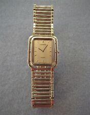 Seiko Lassale reloj de pulsera vintage goldplatiniert absolutamente raras