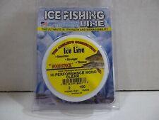 Woodstock Ice Line Hi performance Mono clear 2 lb test 100 yards NIP