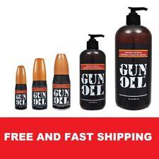 Authentic GUN OIL SILICONE Based Personal Lubricant Premium Sex Lube ALL SIZES ®