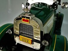 A 1920s Ford Pedal Car Vintage Green T Sport Midget Metal Model