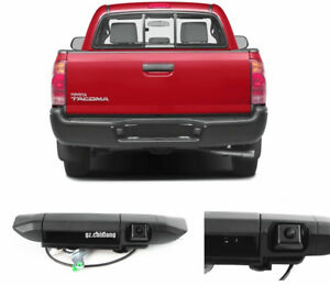 Tail Handle Reversing Backup Camera for Toyota Tacoma 2005-2013 07 08 09 10 2011