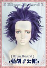 My Boku no Hero Academia Shinsou Hitoshi Cosplay Wig+Free Cap:y