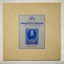 MINT 3LP BOX HANNS-MARTIN SCHNEIDT SCHUTZ PSALMS OF DAVID RARE ITALIAN PREVIEW