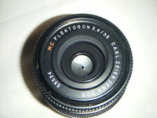 CARL ZEISS FLEKTOGON PENTAX M42 35 mm objectif f2.4 Premier objectif idéal Film/Digital