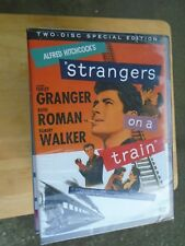 Strangers on a Train (Dvd, 2004, 2-Disc Set) *New Sealed*