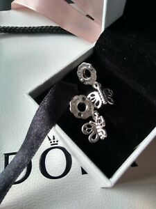 Genuine Pandora Moments S925 ALE Friends Forever Butterfly Charm 790531 Retired