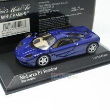 1/43 Minichamps McLaren F1 GTR Roadcar Blu metallico 530 133435