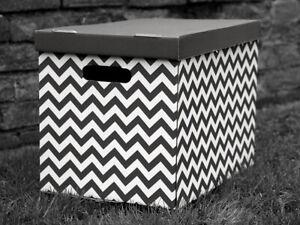 Decorative Storage Boxes Cardboard Box Organiser Archive XLarge
