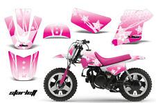 Dirt Bike Graphics Kit MX Decal Wrap For Yamaha PW50 PW 50 1990-2018 STARLET PIN