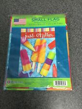 Wincraft Small Summer Flag 12.5 By 18in Just Chillin M48E